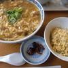 Fujiya - 料理写真:不二屋リューメンと半チャーハン