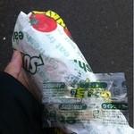 サブウェイ - ツナ オイル&ビネガー(420円) オイルビネガーは自分でかけるそうです