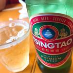中国ラーメン揚州商人 - 青島ビール