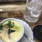 まるしん - 茶碗蒸し450円。