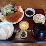 吟の蔵 - チキンカツ定食
