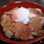 日豪レストラン ゆめや - オージービーフ ローストビーフ丼 アップ