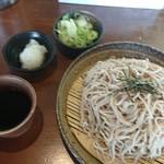 信州蓼科 麺 - ざるおろし蕎麦大盛(税込600円)