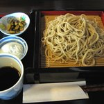 利根川蕎麦店 - もりそば(750円)