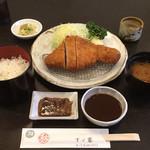 すゞ家 - 味噌ロースカツ定食