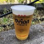 ライスボール - ドリンク写真:オリオンビール