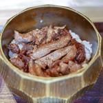 柳橋焼にく わにく - ☆肉まぶし