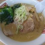 昇龍 - 料理写真:味噌ラーメン(750円)