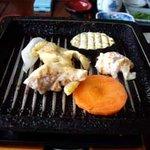 108495 - 軍鶏鉄板焼
