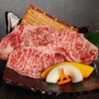 国産牛肉もご用意しています。1日限りのスペシャルメニューも!