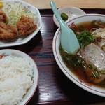 恵比須屋 - ラーメン定食