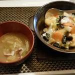 Wachainaroppongi - 海鮮あんかけ焼きそば。