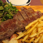 Seiyouryourijurusu - アルバータ牛のサーロインステーキ