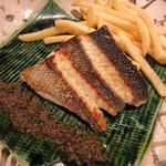 Seiyouryourijurusu - 本日の魚料理(鱸のロースト)