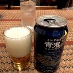 Puja - 苦味と甘みの青鬼ビール