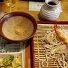 月山そば - 料理写真: