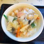 中華料理 正華 - 料理写真:エビソバ  850円
