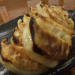 初代麺松 - 国産黒豚餃子2人前
