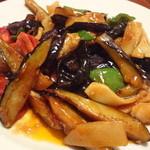 中国家常菜 胡同101 - なすの四川風辛味炒め¥800