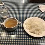 Penta5on - ENTERTAINMENT DINER Penta5on(スープ・ライス)