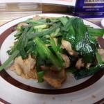 108012202 - 肉ニラ炒め