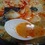 中華食堂満福 - ラー油を追加w