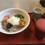 たまき - 山かけ蕎麦 冷  810円