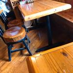 くりすたる - びっくり重い椅子