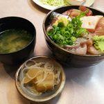 丼 万次郎 - 小田原地魚漬丼
