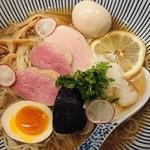 中華そば きなり - 料理写真:冷やし出汁そば¥880+味玉¥100