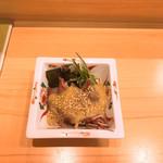 きく鮨 - ホタルイカの酢味噌和え