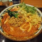 丸亀製麺 - 冷やし担々50辛