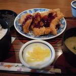 多気 - 500円のチキンカツ定食