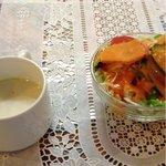 ナマステ タージマハル 長岡京店 - サラダとスープ