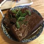 大衆酒場BEETLE - ×肉豆腐玉子付き530円