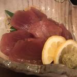 榮鶏庵 - カツオ刺し身