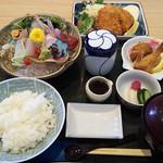 魚留 - 新鮮平目三昧定食
