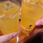 酒蔵北の誉 - ドリンク写真:ウコン茶ハイ300円