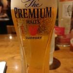 カプリチョーザ - ビールグラス560円