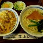 10804216 - 日替わり うどん定食(2011/12/16撮影)