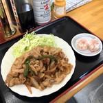 小峰 - 生姜焼き単品380円