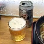 小峰 - 缶ビール300円