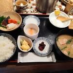 ハナレノミカジノバ - お造り定食