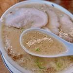 ふくちゃんラーメン - 豚骨スープ!