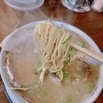 ふくちゃんラーメン - 中太麺!