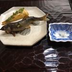 Shizemboutanaka - 鮎の塩焼きと筍