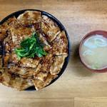 108049161 - 豚丼(大)・味噌汁