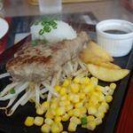 レストランせんごく - ステーキハンバーグ200g