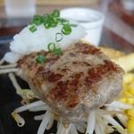 レストランせんごく - ステーキハンバーグ アップ