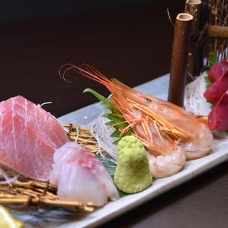 毎日新鮮な海鮮をご用意しています!